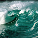 waves - nature wallpaper - 128x128